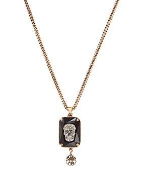 """Alexander McQUEEN - Skull Pendant Necklace, 9.5"""""""