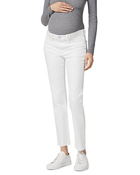 Joe's Jeans - Maternity The Lara Ankle Cigarette Jeans in White