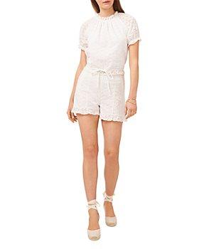 1.STATE - Eyelet Top & Shorts