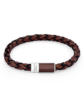 Tateossian - Braided Leather Bracelet