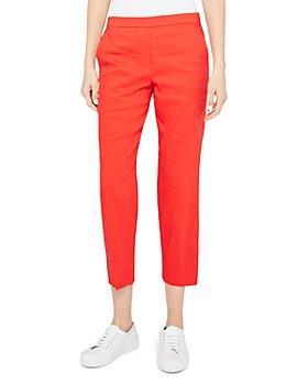 Theory - Treeca 'Good Linen' Pull-On Pants