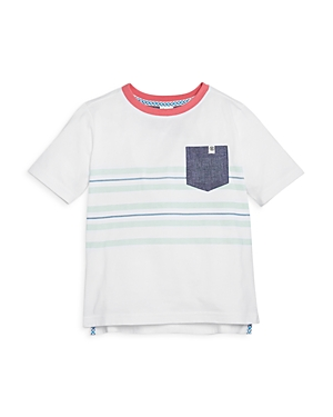Sovereign Code Boys' Dixon Pocket Striped Pocket Tee - Little Kid