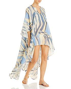 Cult Gaia - Farah Silk & Linen Cover Up
