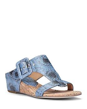 Donald Pliner - Women's Ofelia Buckled Wedge Sandals