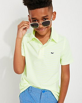 Vineyard Vines - Boys' Bradley Striped Polo - Little Kid, Big Kid