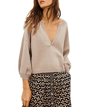 ba&sh - Naya Split Neck Sweater