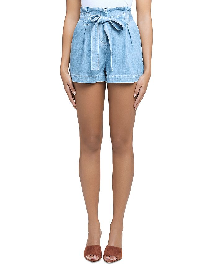 L Agence L'AGENCE HILLARY PAPERBAG SHORTS