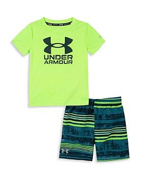 Under Armour - Boys' Swim Rash Guard & Volley Shorts Set - Little Kid