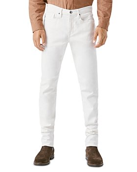 FRAME - L'Homme Slim Fit White Jeans