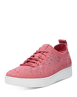 Women's Rally Embellished Lace Up Sneakers