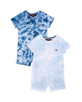 7 For All Mankind - Boys' Tie Dye Romper 2-Piece Set - Baby