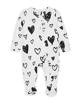 Angel Dear - Girls' Heart Footie - Baby