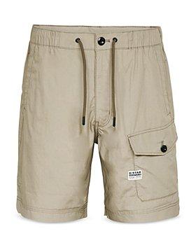 G-STAR RAW - Cotton Regular Fit Cargo Shorts