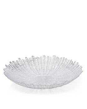 VIETRI - Rufolo Glass Platinum Large Serving Bowl 100% Exclusive