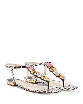 Sophia Webster - Women's Ritzy Embellished Thong Sandals