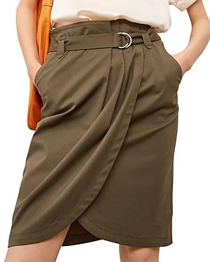 Lara Pleated Wrap Style Skirt