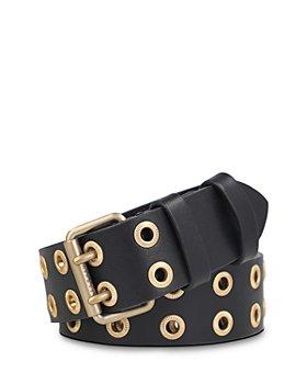 ALLSAINTS - Women's Eyelet Leather Belt