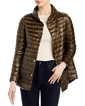 Herno - Reversible A-Line Shiny Down Coat