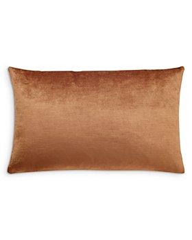"Mitchell Gold Bob Williams - Naomi Velvet Oblong Pillow, 22"" x 14"""