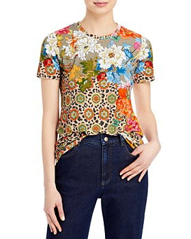 Johnny Was - Taylor Leopard Floral Tee