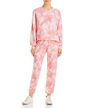 AQUA - AQUA Tie-Dyed Sweatshirt & Tie-Dyed Drawstring Sweatpants - 100% Exclusive