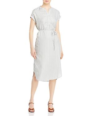 Jasmeen Striped Belted Dress