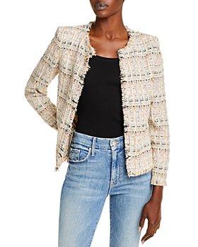 IRO - Shavana Plaid Tweed Jacket