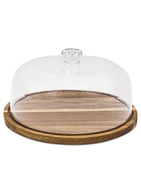 Godinger - Wood Tray with Acrylic Lid