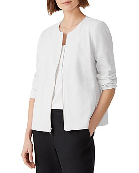 Eileen Fisher - Ponte Knit Zip Jacket