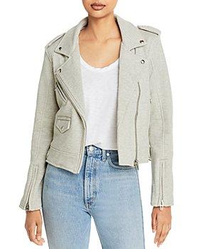 BLANKNYC - Sweatshirt Moto Jacket