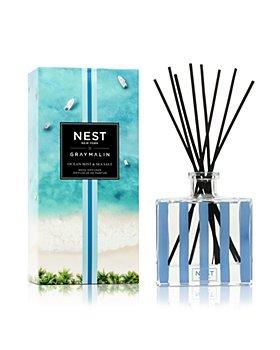 NEST Fragrances - Gray Malin Summer Collection Ocean Mist & Sea Salt Reed Diffuser