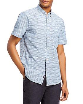 Faherty - Playa Regular Fit Button Down Stretch Short Sleeve Shirt