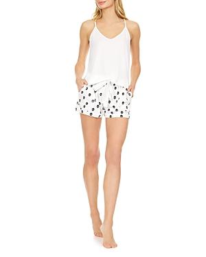 Jillian Skull Short Pajama Set