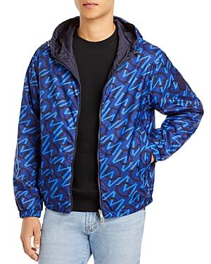 Moncler Cretes Reversible Logo Hooded Jacket