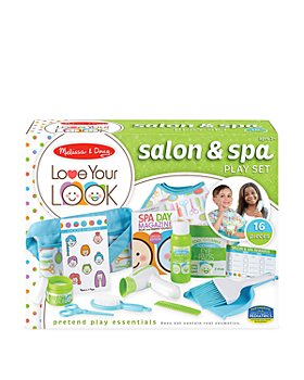 Melissa & Doug - Melissa & Doug Salon & Spa Play Set - Ages 3+