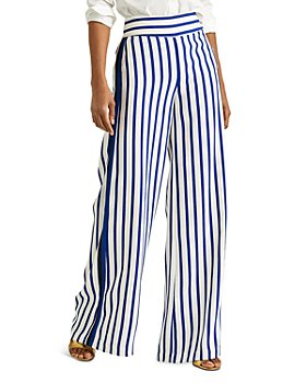 Ralph Lauren - Striped Wide Leg Pants