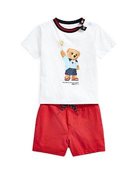 Ralph Lauren - Boys' Polo Bear Tee & Shorts Set - Baby
