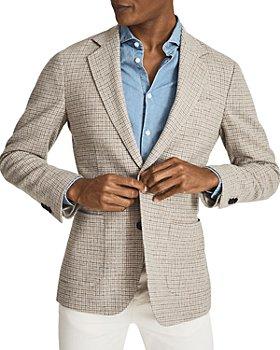REISS - Flutter Slim Fit Single Breasted Jacket
