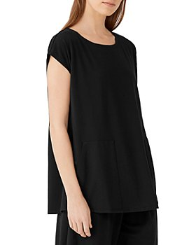 Eileen Fisher - Jewel Neck Tunic