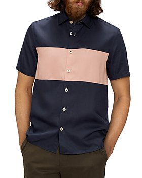 Ted Baker - Color Block Button Down Shirt
