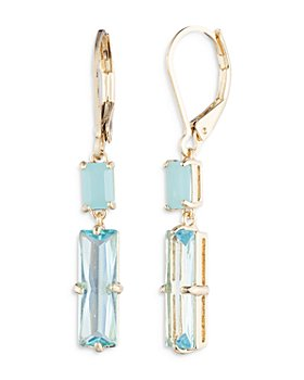 Ralph Lauren - Stone Double Drop Earrings