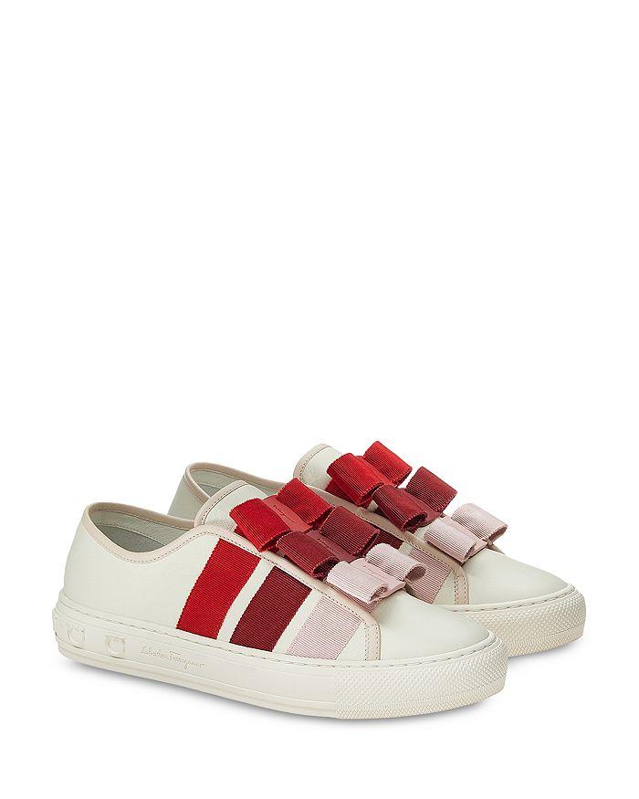 Salvatore Ferragamo - Women's Embellished Sneakers
