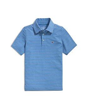 Vineyard Vines - Boys' Hamilton Stripe Sankaty Polo Shirt - Little Kid, Big Kid