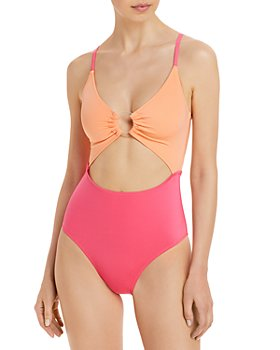 Solid & Striped - Esme Color Blocked One Piece Swimsuit