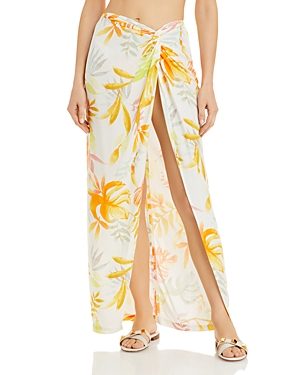 L*Space Mia Printed Skirt Swim Cover-Up
