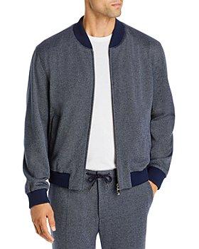 BOSS Hugo Boss - Nolwin Birdseye Jersey Bomber Jacket