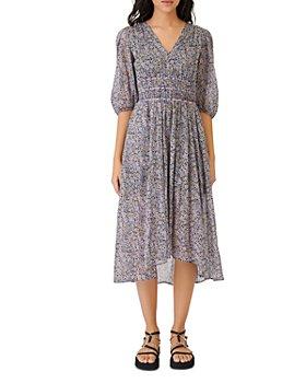 Maje - Rilota Floral Midi Dress