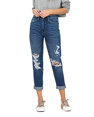 Distressed Relaxed Fit Jeans (55% off)