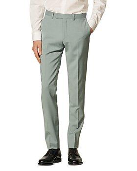 Sandro - Formal Storm Wool Suit Pants