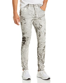 Purple Brand - White Mechanic Skinny Jeans